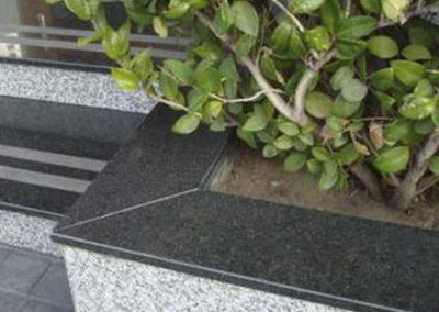 Escalera Granito Negro Brasil